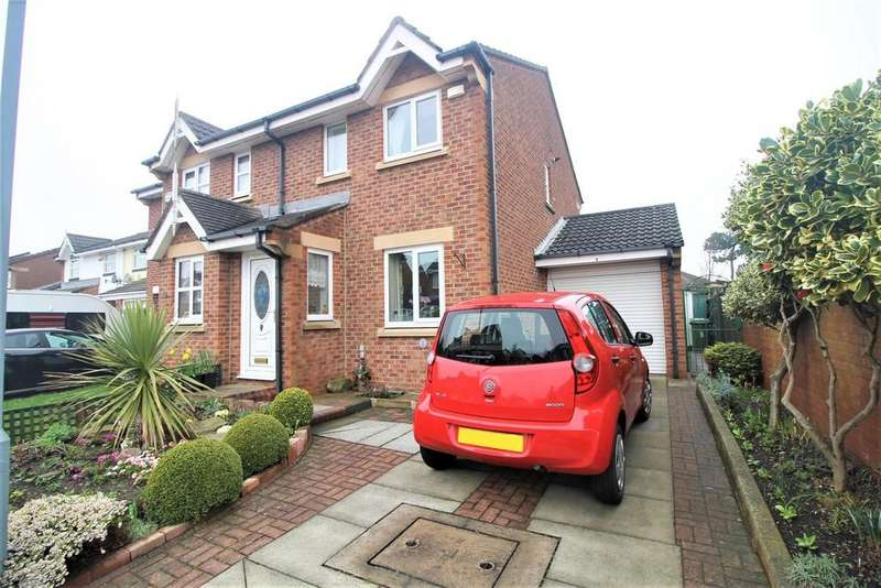 2 Bedrooms Semi Detached House for sale in Holburn Park, Stockton-On-Tees