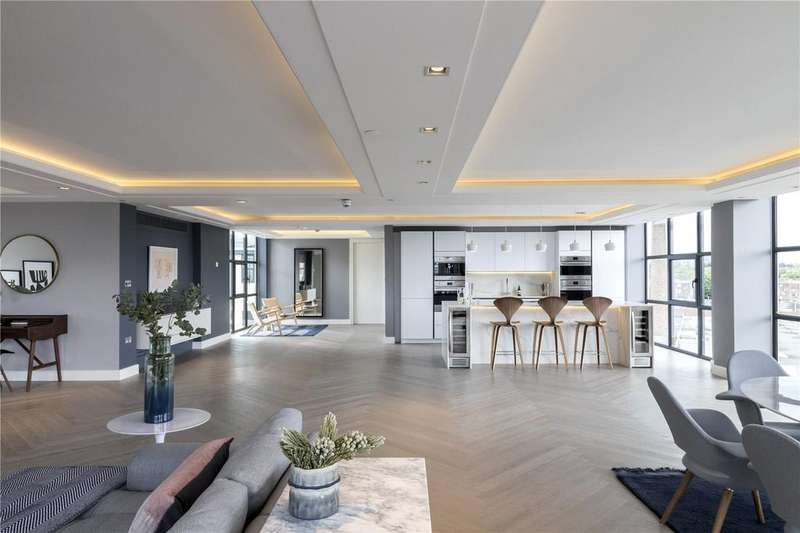 3 Bedrooms Penthouse Flat for sale in Long Island House, Warple Way, Acton, London, W3