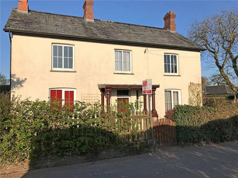 4 Bedrooms Detached House for sale in Chawleigh, Chulmleigh, Devon
