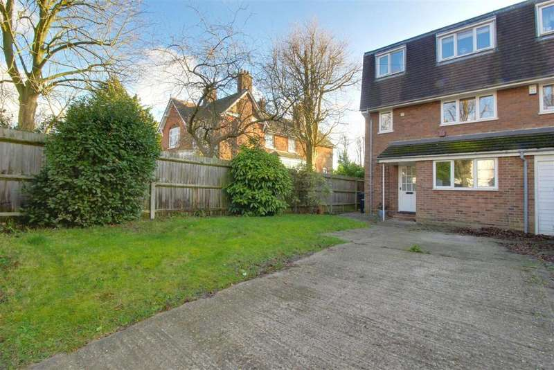 4 Bedrooms Semi Detached House for sale in Dryden Road, ENFIELD