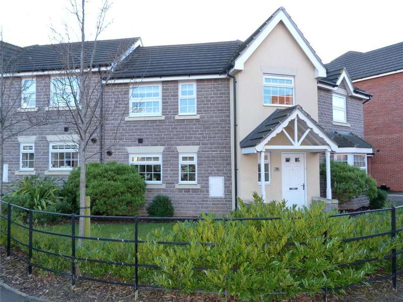 3 Bedrooms Semi Detached House for sale in Abbey Park Way, Weston, Crewe, Cheshire, CW2
