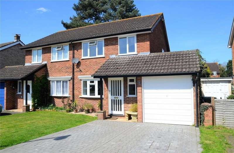 3 Bedrooms Semi Detached House for sale in Roundhead Road, Theale, Reading, RG7