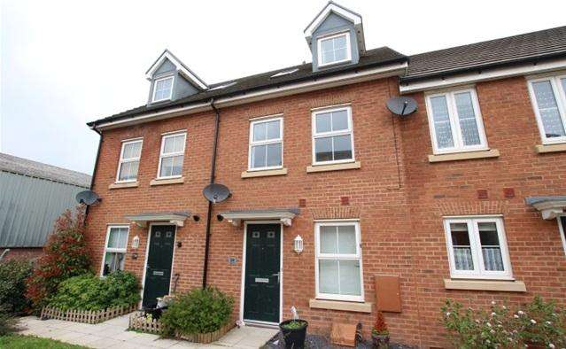 3 Bedrooms Terraced House for sale in Peploe Way, Bridgwater