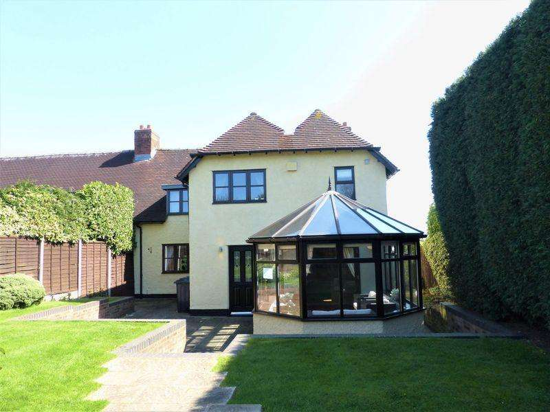 4 Bedrooms Semi Detached House for sale in The Old Farm House, Brookhus Farm Road, Sutton Coldfield