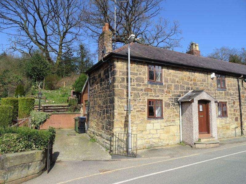 2 Bedrooms End Of Terrace House for sale in Pont Adam Cottages, LL14