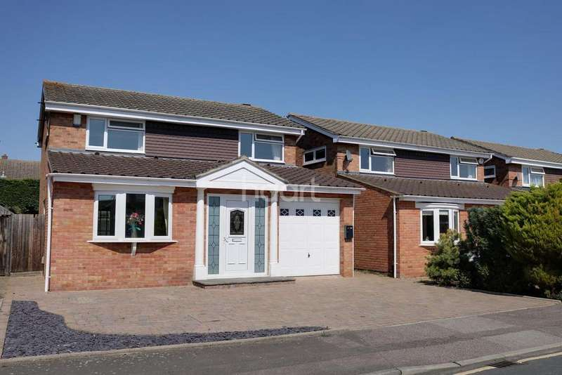 4 Bedrooms Detached House for sale in Widecombe Close, Devon Park