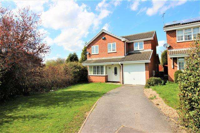 4 Bedrooms Detached House for rent in Dalby Gardens, Sothall, Sheffield, S20 2PH