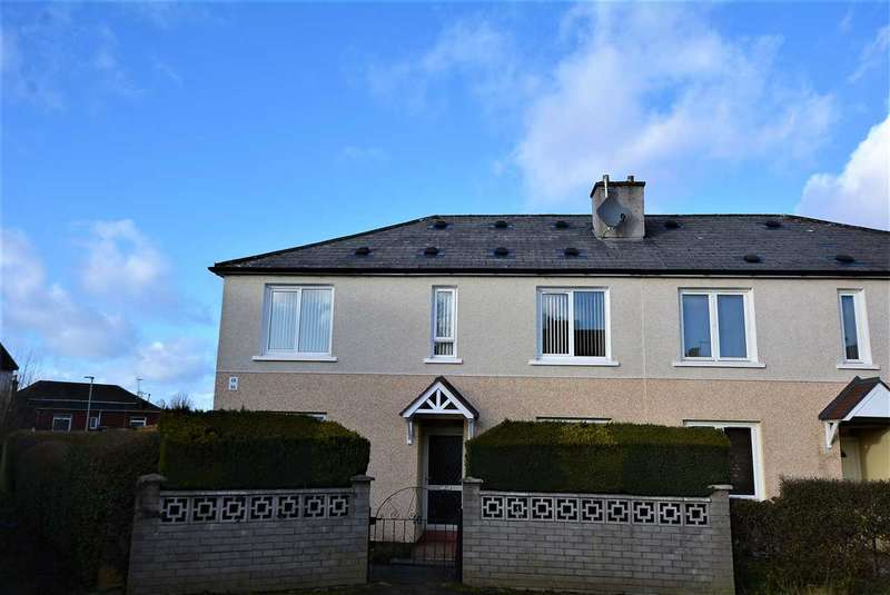 2 Bedrooms Flat for sale in Ochil PLace, Sandyhills, G32