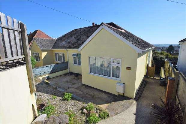 3 Bedrooms Semi Detached Bungalow for sale in Pines Road, Paignton, Devon
