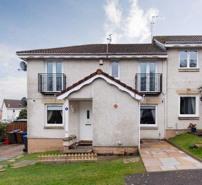 2 Bedrooms Ground Flat for sale in Castle Place, Gorebridge, Midlothian, EH23 4TJ