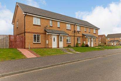 3 Bedrooms End Of Terrace House for sale in Scott Way, Greenock