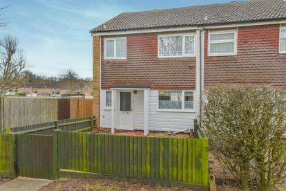 3 Bedrooms End Of Terrace House for sale in Swanstand, Letchworth Garden City, Hertfordshire, England