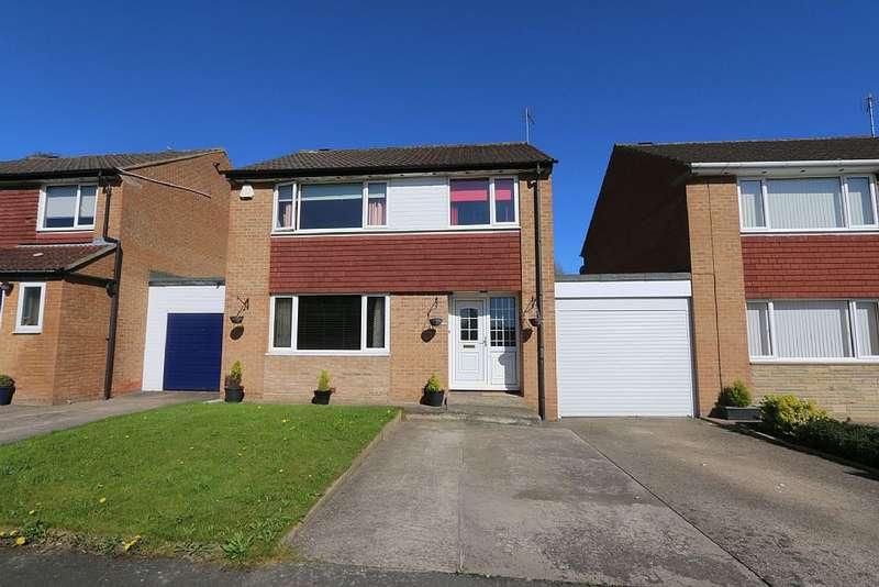 3 Bedrooms Link Detached House for sale in Westfield Drive, Darlington, Durham, DL3