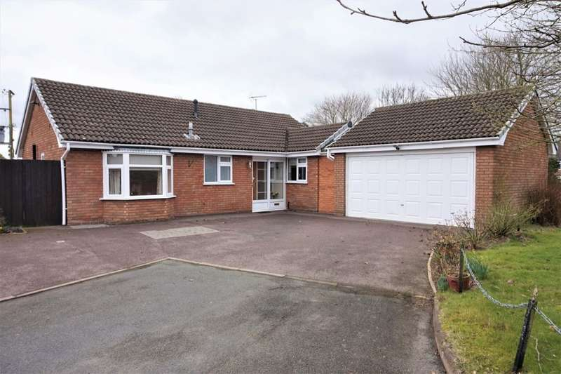 3 Bedrooms Detached Bungalow for sale in Middlefield, Gnosall, Stafford, ST20