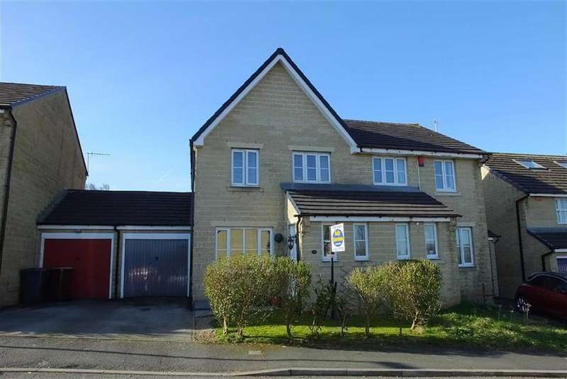 3 Bedrooms Semi Detached House for sale in South Valley Drive, Colne, Lancashire, BB8
