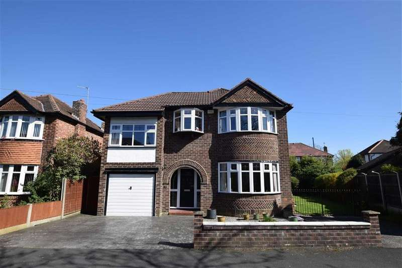 4 Bedrooms Detached House for sale in Greenhill Road, Timperley, Cheshire, WA15