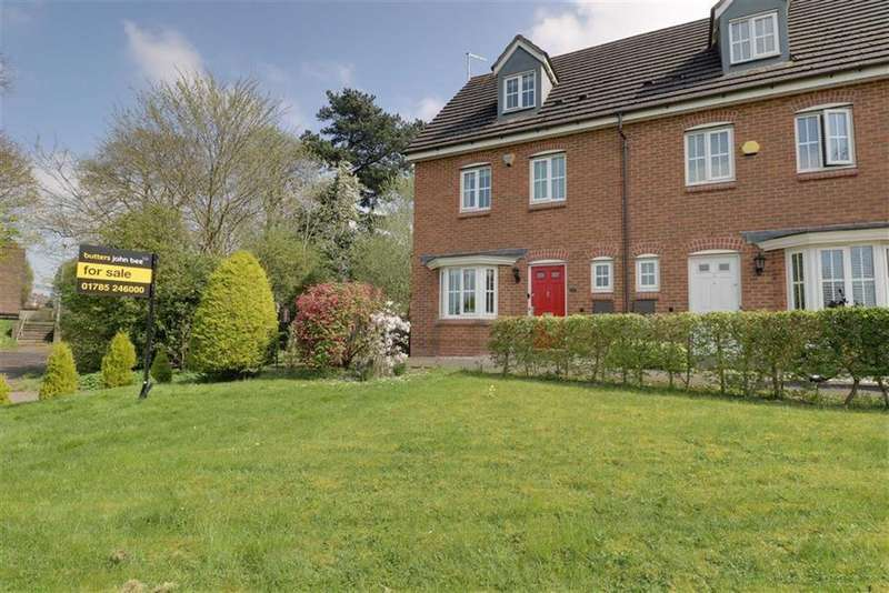 4 Bedrooms End Of Terrace House for sale in Pioneer Way, Stafford