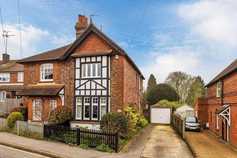 3 Bedrooms Semi Detached House for sale in Westbury Terrace, Westerham, TN16