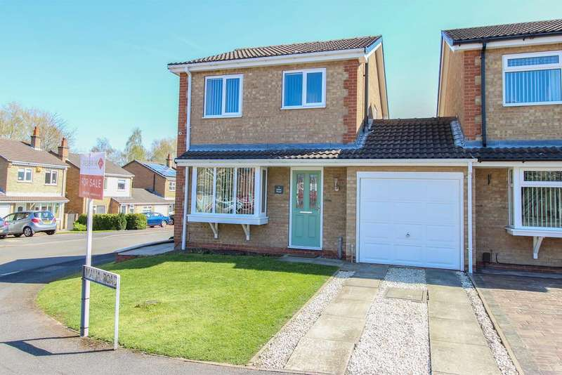 3 Bedrooms Link Detached House for sale in Malia Road, Chesterfield