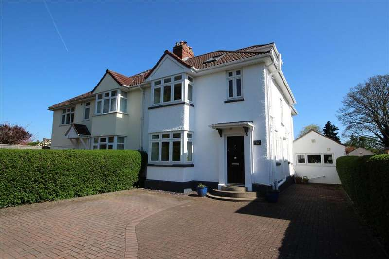 4 Bedrooms Semi Detached House for sale in Canford Lane, Westbury-On-Trym, Bristol, BS9
