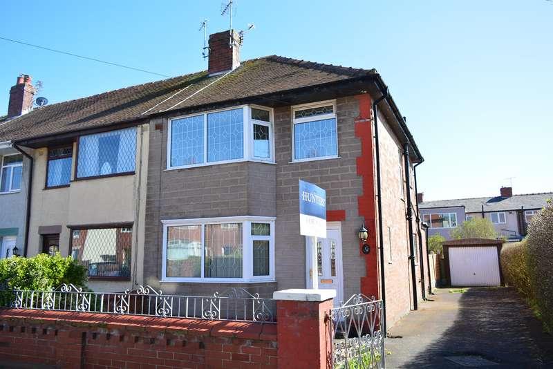 3 Bedrooms End Of Terrace House for sale in Burnside Avenue, Blackpool, FY4 4AF