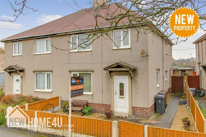 3 Bedrooms Semi Detached House for sale in Maes Y Dre, Mold