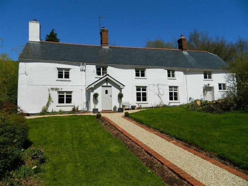 5 Bedrooms Detached House for sale in Waterrow, Wiveliscombe, Somerset, TA4