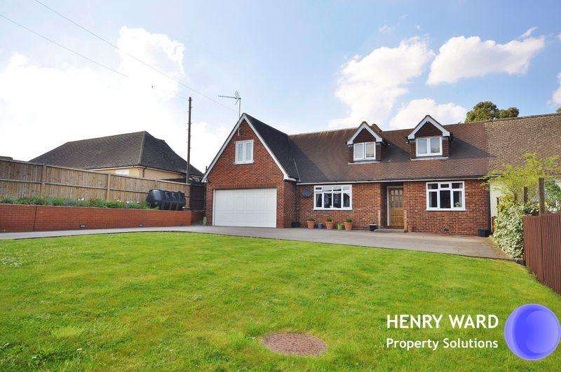 5 Bedrooms Semi Detached House for sale in Claverhambury Road, Waltham Abbey