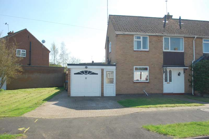 3 Bedrooms Semi Detached House for sale in Meadow Road, Alcester, B49