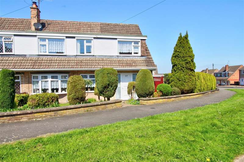 4 Bedrooms Semi Detached House for sale in Sunningdale Drive, Kirk Hallam