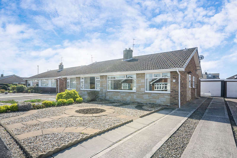 2 Bedrooms Semi Detached Bungalow for sale in Willow Glade, Huntington, York, YO32