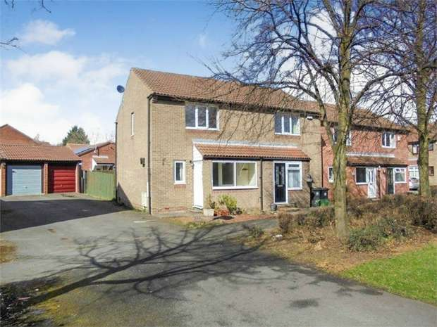 2 Bedrooms Semi Detached House for sale in Stonehaven Way, Darlington, Durham