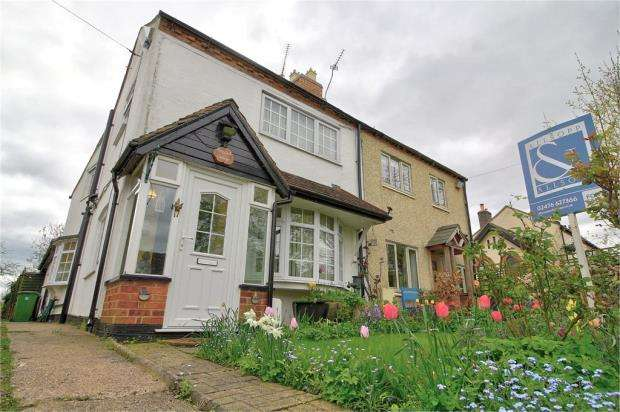 2 Bedrooms Semi Detached House for sale in Top Road, Barnacle, Coventry, Warwickshire