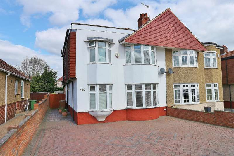 4 Bedrooms Semi Detached House for sale in Welling Way, Welling, Kent, DA16 2RR