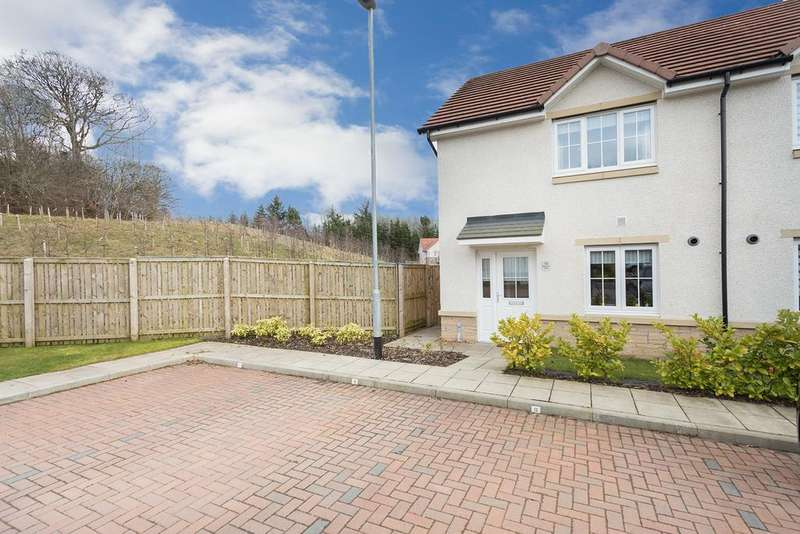 3 Bedrooms End Of Terrace House for sale in 12 Moorhen Place, Cumbernauld, G68 9GT