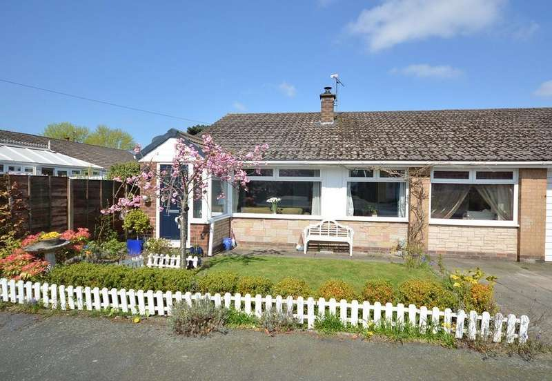 4 Bedrooms Semi Detached Bungalow for sale in Lodge Close, Lymm