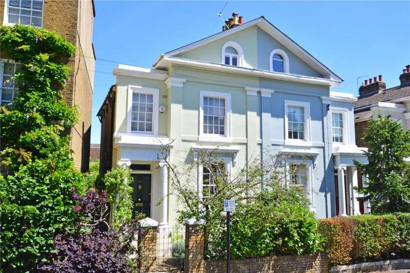 4 Bedrooms Semi Detached House for sale in Dacre Park, Lewisham, London, SE13