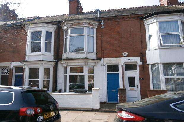 2 Bedrooms Terraced House for sale in Stuart Street, Leicester, LE3
