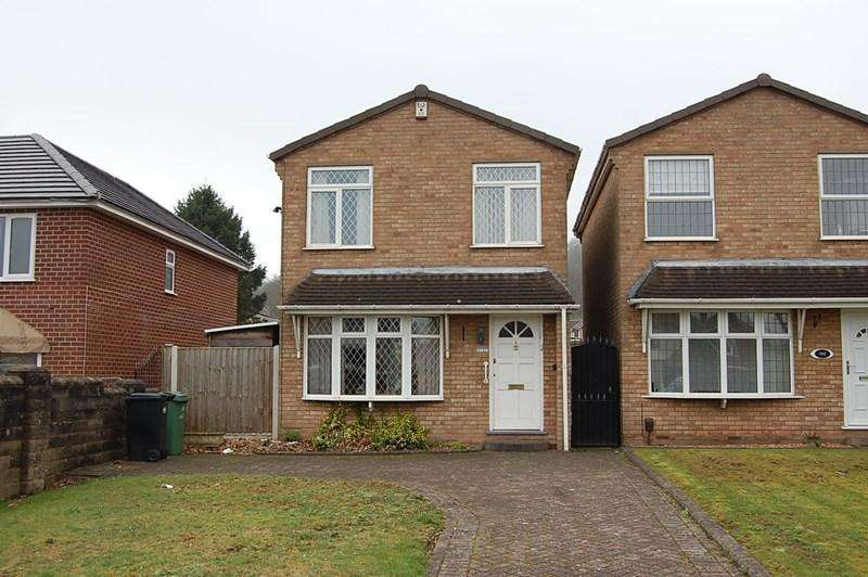3 Bedrooms Detached House for sale in Sedgley Road, Woodsetton, Dudley
