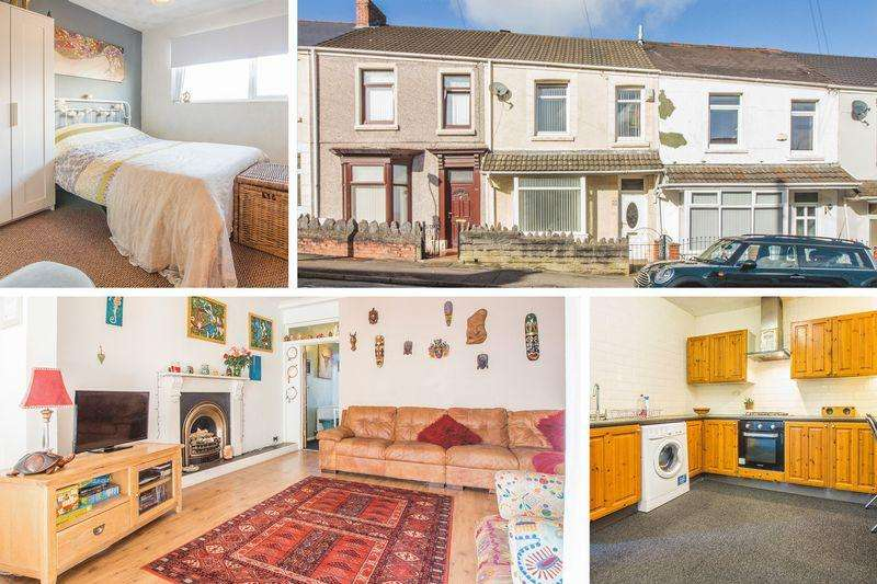 3 Bedrooms Terraced House for sale in Monterey Street, Swansea - REF #00003907
