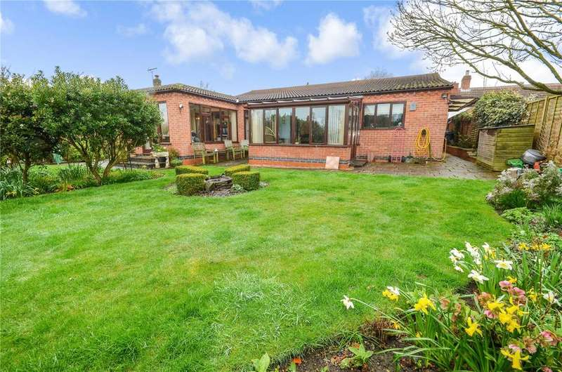 3 Bedrooms Detached Bungalow for sale in School Lane, Harby, Melton Mowbray