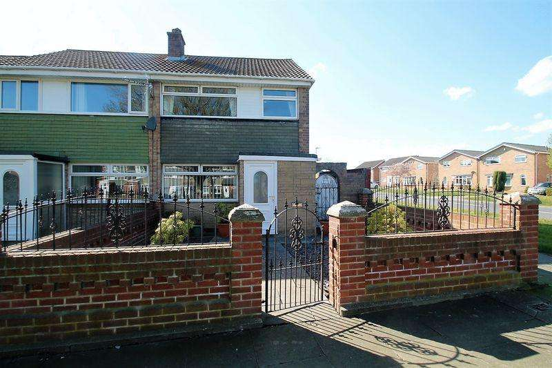 3 Bedrooms Terraced House for sale in Foxton Drive, Billingham