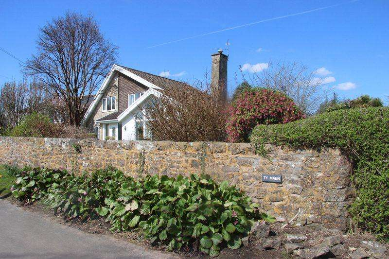 5 Bedrooms Detached House for sale in Ty Maen, Rectory Rd, Llanvaches