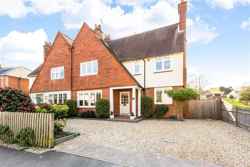 5 Bedrooms Semi Detached House for sale in Ravenswood Avenue, Crowthorne