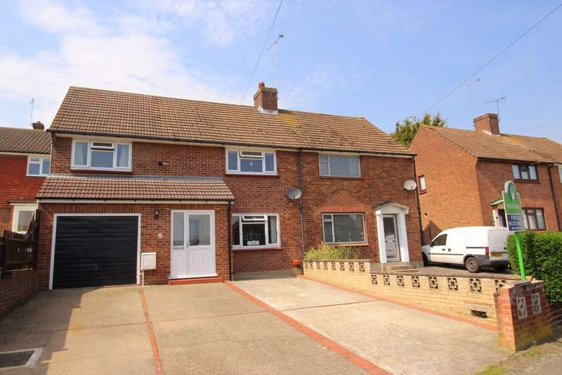 3 Bedrooms Semi Detached House for sale in Leechcroft Avenue, Swanley, BR8