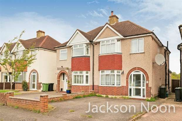 3 Bedrooms Semi Detached House for sale in Northcroft Road, West Ewell