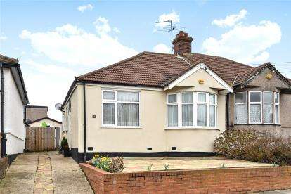 2 Bedrooms Semi Detached Bungalow for sale in Hillview Road, Chislehurst