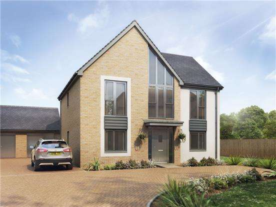 4 Bedrooms Detached House for sale in The Garnet, Littlecombe, Lister Road, Dursley, Glos, GL11 4BA