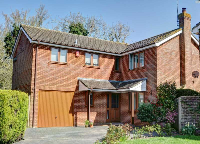 4 Bedrooms Detached House for sale in Bedgrove, Aylesbury