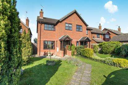 2 Bedrooms Semi Detached House for sale in Knolls View, Leighton Road, Northall, Dunstable
